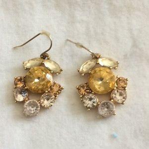 Multi stone beautiful earrings from JCrew